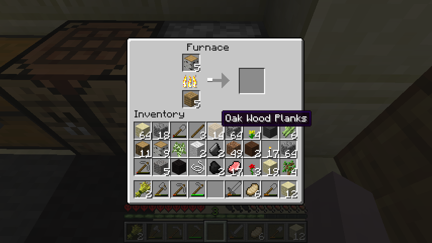 how to turn coal into charcoal in minecraft