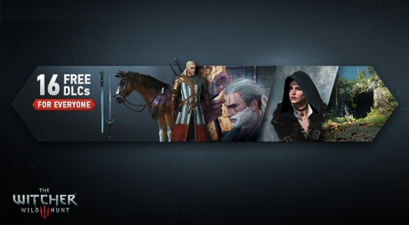 The Witcher 3: Wild Hunt gets sixteen free DLC packs