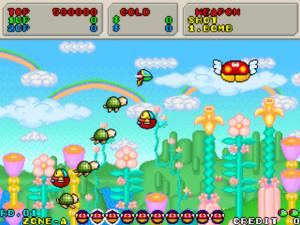 Fantasy_Zone_II_remake (SEGA Nostalgia coming to the 3DS)