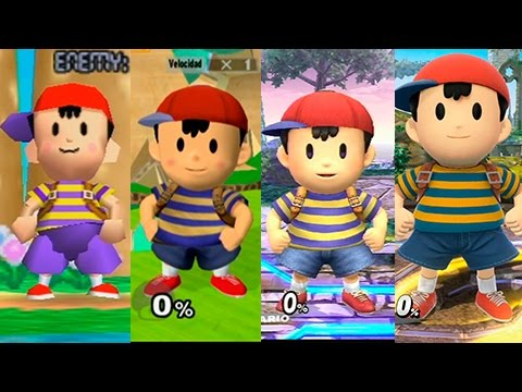 Ness wants you to smack people with Yo-yos in every generation!