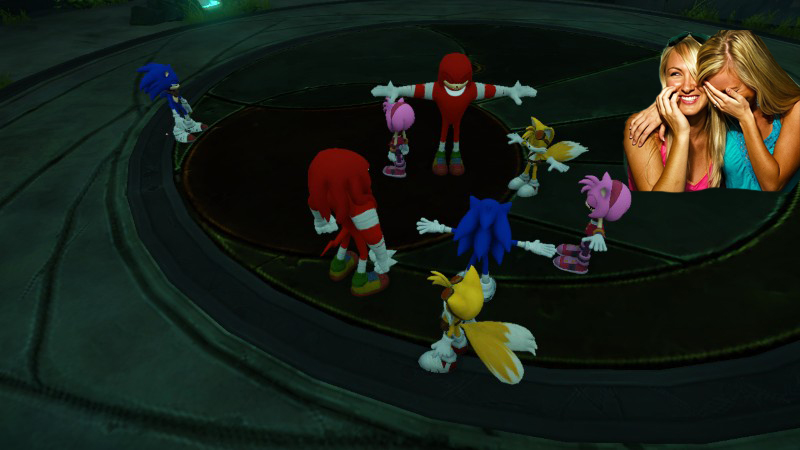 Teehee! Sega tried to defibrillate the Sonic franchise.
