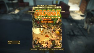 Fallout-4-Grognak (Fallout 4 Comic and Magazine Locations Guide – Sortable Table)