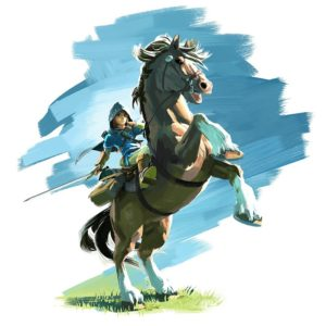 TLOZ_Link-Horse (The Legend of Zelda: Breath of the Wild [News])