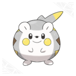 Togedemaru's artwork